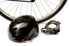 Faites du vélo la sécurité Photo libre de droits