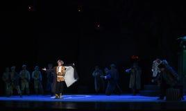 """Faites face à l'opéra de courageux-Pékin de danger """"Taking le  de € de Tiger Montain By Strategyâ photos stock"""