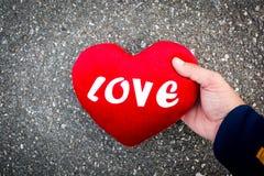 Faites la Saint-Valentin d'amour Photo stock