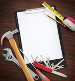 Faites-le vous-même des outils Images stock