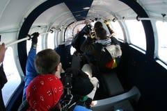 Faites un saut en chute libre la frousse Photo stock