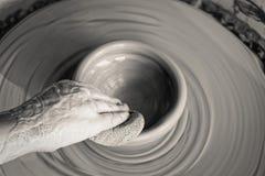 Faites une poterie photographie stock