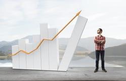Faites votre revenu se développer Image stock