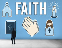 Faith Belief Believe Confidence Conviction Hope Concept Royalty Free Stock Image