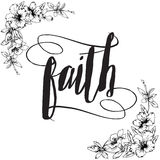 Faith Calligraphy Typography
