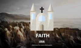 Faith Church Believe God Hope Loyalty Religion Concept Royalty Free Stock Photo
