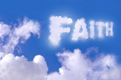 Faith Royalty Free Stock Photography
