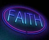 Faith concept. Stock Photos