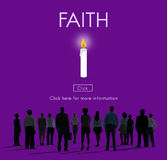 Faith Hope Ideology Loyalty Religion Belief Believe Concept. Faith Hope Ideology Loyalty Religion Belief Believe Royalty Free Stock Photography