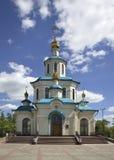 Faith, Hope, Love and Sophia church in Krasnoyarsk. Russia.  Stock Photo