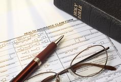 Faith insurance Stock Photography