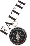 faith kompas nagłówek fotografia royalty free