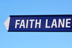 Faith Lane Stock Images