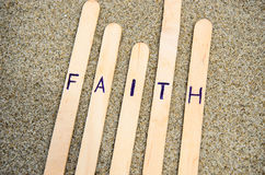 Faith in the Lord. Stock Photo