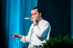 Faith no More concert Stock Image