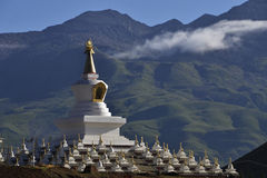 Faith. The sacred pagoda, the Tibetan people\'s heart, is a kind of faith Stock Images