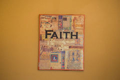Faith Sign Royalty Free Stock Photography