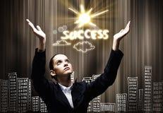 Faith in success Royalty Free Stock Photos