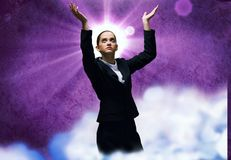 Faith in success Royalty Free Stock Image