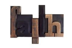 Faith, word written in letterpress type blocks Stock Photo