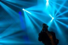 Faithless на основной ступени на фестивале 2015 выхода Стоковые Изображения