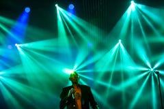 Faithless на основной ступени на фестивале 2015 выхода Стоковое Изображение