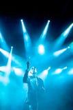 Faithless на основной ступени на фестивале 2015 выхода Стоковые Фото