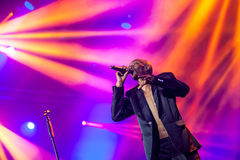 Faithless on main stage at Exit Festival 2015 Royalty Free Stock Photos