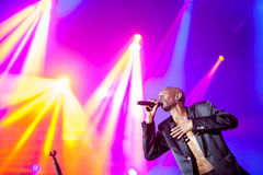 Faithless on main stage at Exit Festival 2015 Stock Photos