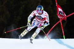 FAIVRE Mathieu in Audi Fis Alpine Skiing World-de Reus van Kopmen's royalty-vrije stock afbeeldingen