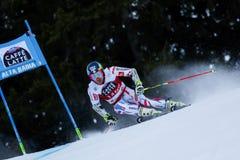 FAIVRE Mathieu nel gigante di Men's della tazza di Audi Fis Alpine Skiing World Fotografia Stock