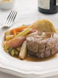 Faixa chapeada da carne um la Ficelle Imagens de Stock Royalty Free