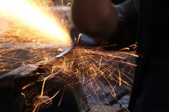 Faixa de aço Imagens de Stock