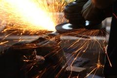 Faixa de aço Fotografia de Stock