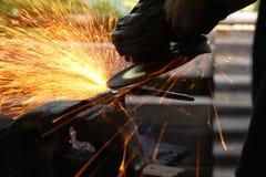 Faixa de aço Fotos de Stock