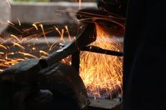 Faixa de aço Fotografia de Stock Royalty Free