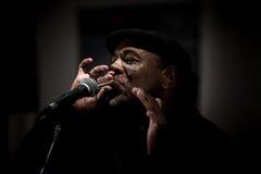 Faixa de azuis de Keith Dunn & do trem quatro - jazz em Kiev Imagem de Stock Royalty Free
