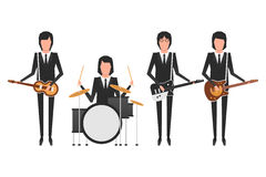 A faixa de Beatles Foto de Stock