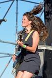 Faixa de Hinds no concerto no Fest do MBC Foto de Stock Royalty Free