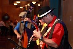 Faixa de jazz Fotos de Stock Royalty Free