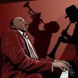 Faixa de jazz ilustração do vetor