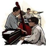 Faixa de jazz Imagem de Stock Royalty Free