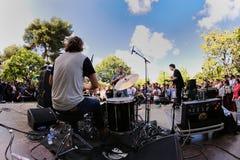A faixa de Mac DeMarco, executa no festival 2013 do som de Heineken Primavera Foto de Stock Royalty Free
