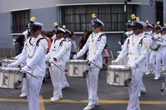 Faixa de marinha militar Fotos de Stock Royalty Free