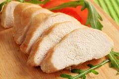 Faixa de peito de galinha fotos de stock royalty free