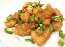 Faixa de peixes de sal e de pimenta Foto de Stock