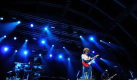 A faixa do êxtase executa em San Miguel Primavera Sound Festival fotografia de stock royalty free