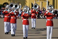 Faixa do Corpo dos Marines Foto de Stock