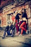 Faixa do hip-hop fotografia de stock