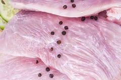 Faixa do peito de frango foto de stock royalty free
